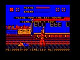 Street Fighter Amstrad CPC Joe is down