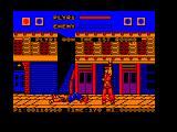 Street Fighter Amstrad CPC Birdie is down
