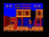Street Fighter Amstrad CPC Ryu vs. Eagle