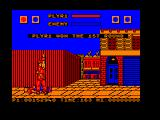 Street Fighter Amstrad CPC Eagle is down