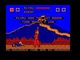 Street Fighter Amstrad CPC Lee is down