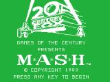 M*A*S*H TI-99/4A Title screen