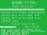 M*A*S*H TI-99/4A Select game options
