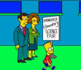 Virtual Bart SNES Young Bart Simpson wander into the science fair