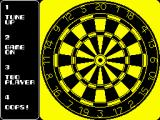 Pub Darts ZX Spectrum Select type of game
