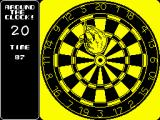 Pub Darts ZX Spectrum Try to hit each number from 20 to 1 in limited time