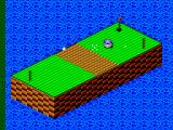 Putt & Putter SEGA Master System Aiming for the bumper