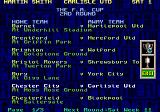Premier Manager 97  Genesis FA Cup draw - the game starts it from round 2.