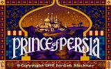 Prince of Persia Atari ST Title screen.