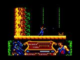 Strider 2 Amstrad CPC Firing your weapon