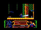 Strider 2 Amstrad CPC Using your blade