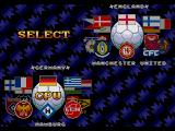 World Trophy Soccer Genesis Team selection