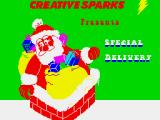 Special Delivery: Santa's Christmas Chaos ZX Spectrum Loading screen