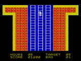Special Delivery: Santa's Christmas Chaos ZX Spectrum Section 2 of the game, down the chimney