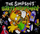 The Simpsons: Bart's Nightmare SNES Title Screen