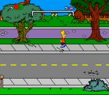 The Simpsons: Bart's Nightmare SNES In game