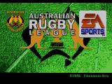 Australian Rugby League Genesis Title screen