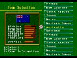 Australian Rugby League Genesis Team selection