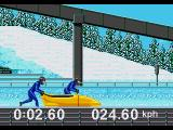 Winter Olympics: Lillehammer '94 Genesis Starting up in Bobsled