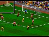 FIFA Soccer 95 Genesis Taking a corner