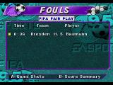 FIFA Soccer 95 Genesis Cards shown