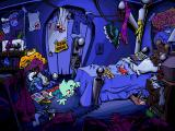 Pajama Sam's Lost & Found Windows Intro:Pajama Sam crawls under his bed to enter a different world...