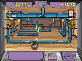 Pajama Sam's Lost & Found Windows Bonus Game - Bucket 'o Prizes - Collect the items in your bucket as they drop down from above
