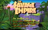 Worlds of Ultima: The Savage Empire DOS Title screen