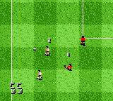 The F.A. Premier League Stars 2001  Game Boy Color He tries a sliding tackle from quite some distance