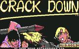 Crack Down Commodore 64 Title