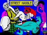 Bad Street Brawler ZX Spectrum Loading screen
