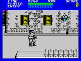 Bad Street Brawler ZX Spectrum Game start