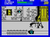 Bad Street Brawler ZX Spectrum A shame I can't grab the stick adn beat her with it