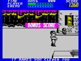 Bad Street Brawler ZX Spectrum Level 1 completed