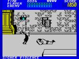 Bad Street Brawler ZX Spectrum Down I go