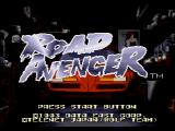 Road Avenger SEGA CD Title screen
