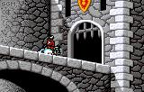 Rampart Lynx Intro: The knight enters the castle