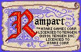 Rampart Lynx Title screen