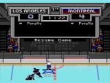 NHL '94 SEGA CD Pause menu