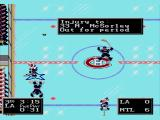 NHL '94 SEGA CD Injuring someone