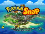 Pokémon Snap Nintendo 64 Title screen