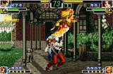 The King of Fighters EX: Neo Blood Game Boy Advance Kyo Kusanagi launches Mai in the air, thanks to the 2 flaming hits of his punch-based DM 182: Shiki.