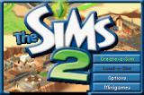 The Sims 2 Game Boy Advance Title Screen