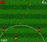 Ultimate Soccer Game Gear Pointing a throw