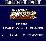 Ultimate Soccer Game Gear Two player games are possible by connecting two consoles