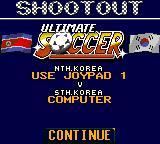 Ultimate Soccer Game Gear A penalty mode is also possible