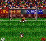 Ultimate Soccer Game Gear The DPRK goalie catches the ball