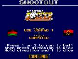 Ultimate Soccer SEGA Master System A penalty game
