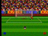 Ultimate Soccer SEGA Master System For some reason, players from Iceland are the same skin colour as those from Angola.