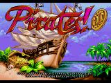 Pirates! Gold Genesis Title screen